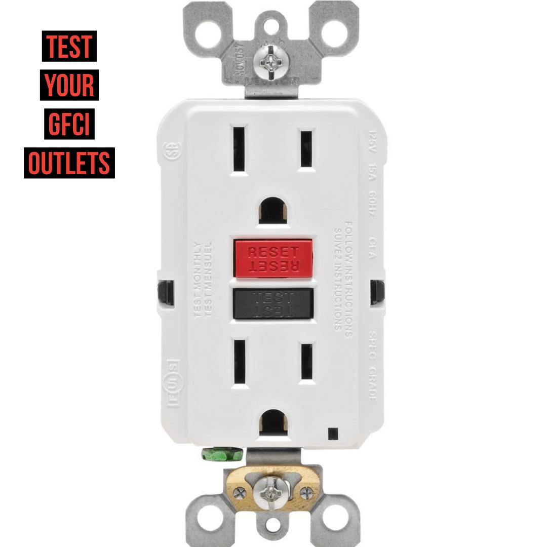 test your gfci outlets